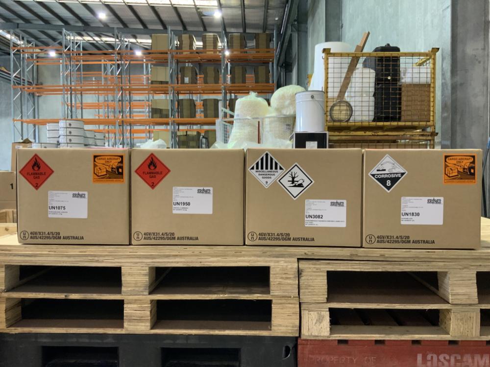 Dangerous goods packing ORP DG