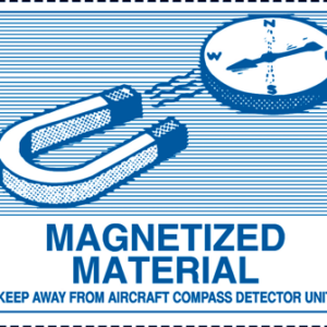 Magnetized Material Mark