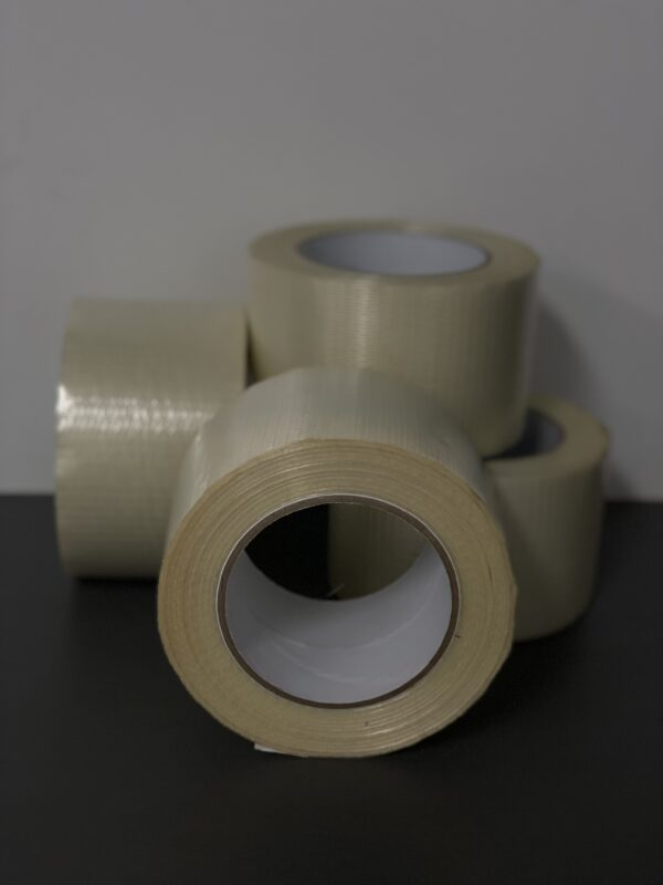 Cross woven filament tape
