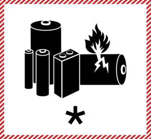 Lithium Battery Mark