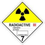 Radioactive Material III-Yellow