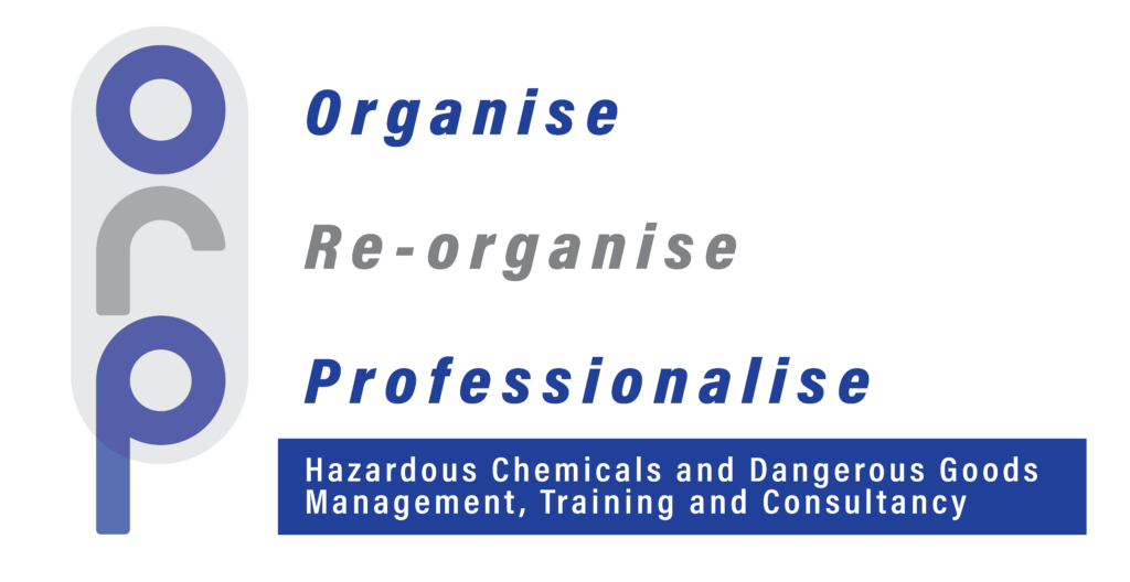 Hazardous chemicals and dangerous goods management, training and consultancy